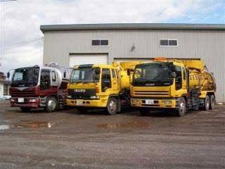産業廃棄物収集運搬車両